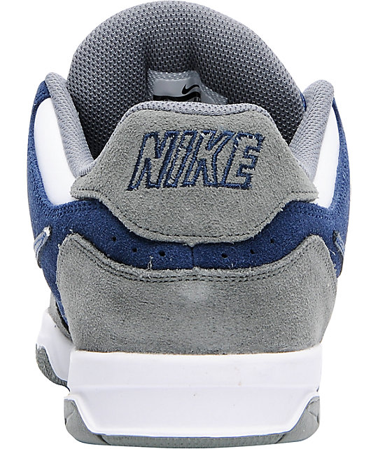 Nike 6.0 Air Zoom Oncore Tumbled Grey & Midnight Navy Shoes