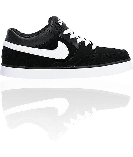 Nike 6.0 Avid Boys Black & White Shoes