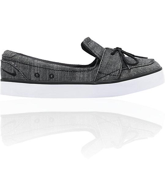 Nike 6.0 Balsa Lite Black & White Shoes
