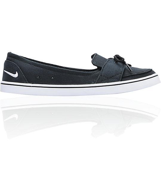 Nike 6.0 Balsa Lite Black Canvas Shoes