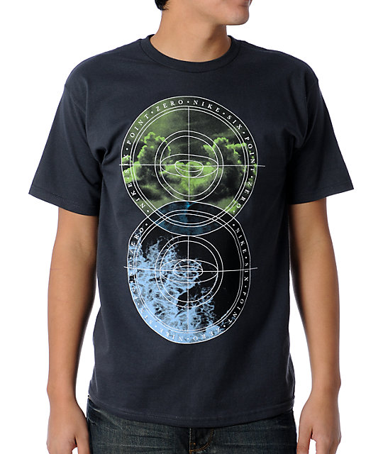 Nike 6.0 Boundaries Charcoal T-Shirt