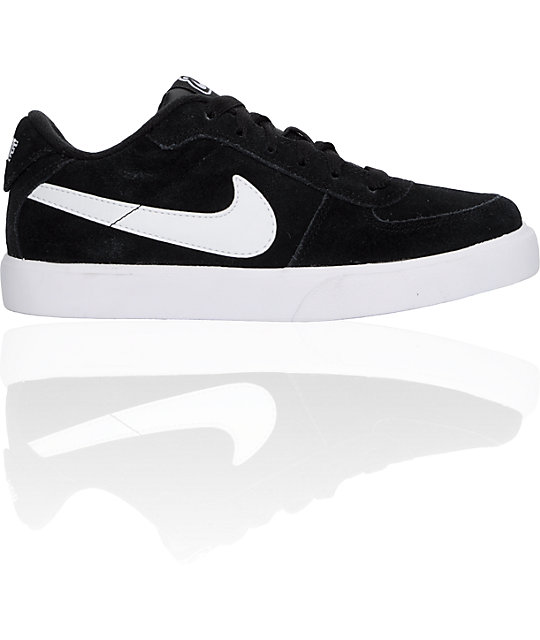 Nike 6.0 Boys Mavrk Black & White Shoes