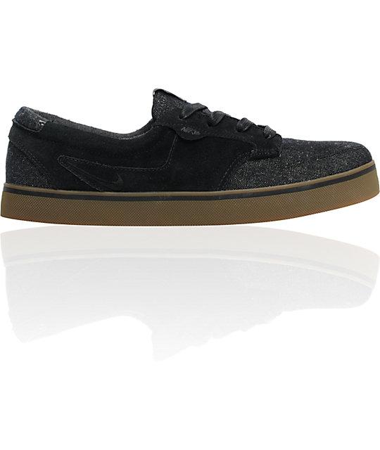 Nike 6.0 Braata Black & Gum Shoes