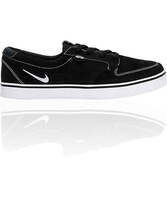 Nike 6.0 Braata Black & White Shoes