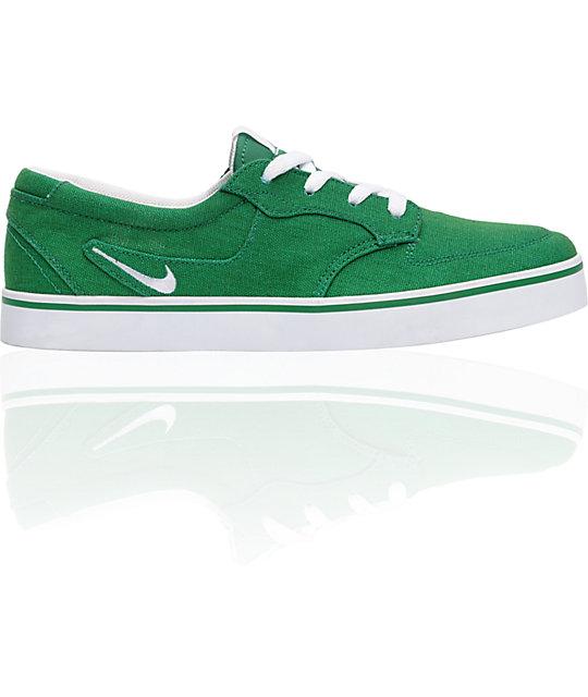 Nike 6.0 Braata Green Shoes