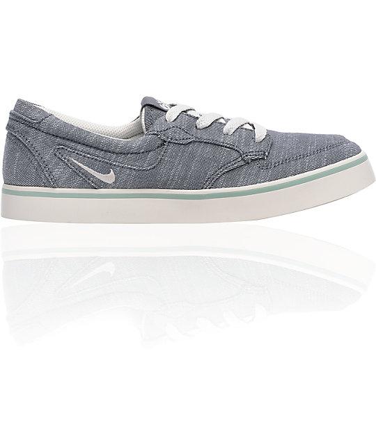 Nike 6.0 Braata Grey & Sage Shoes
