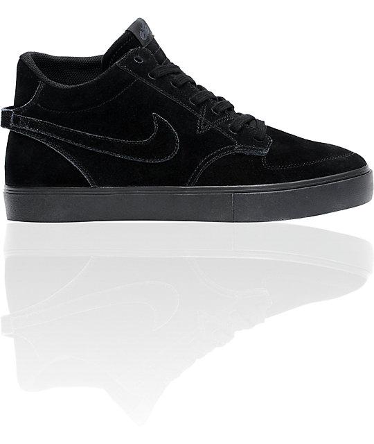 nike 6.0 braata lr mid premium skate shoes