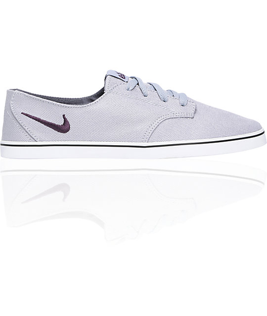 Nike 6.0 Braata Lite Grey Canvas Shoes