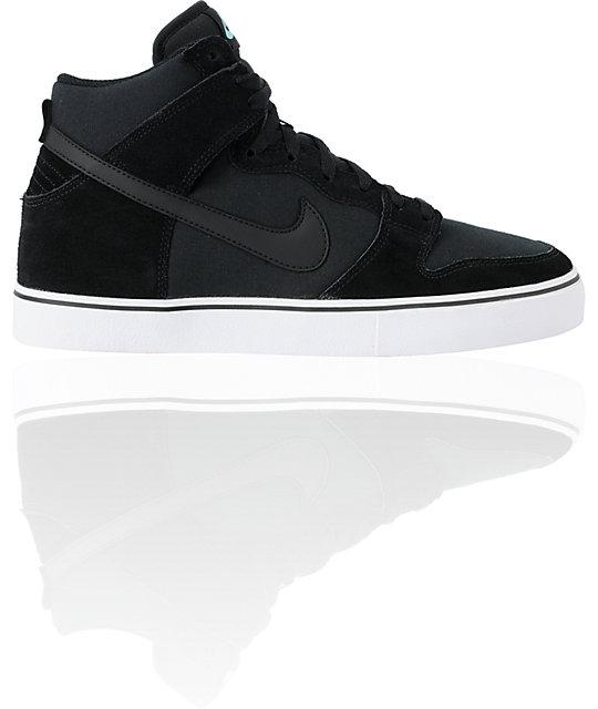 nike 6 0 skate shoes. nike 6.0 dunk high lr black \u0026 tropical twist teal skate shoes 6 0 e
