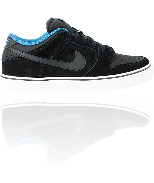 Nike 6.0 Dunk Low LR Black & Green Abyss Shoes