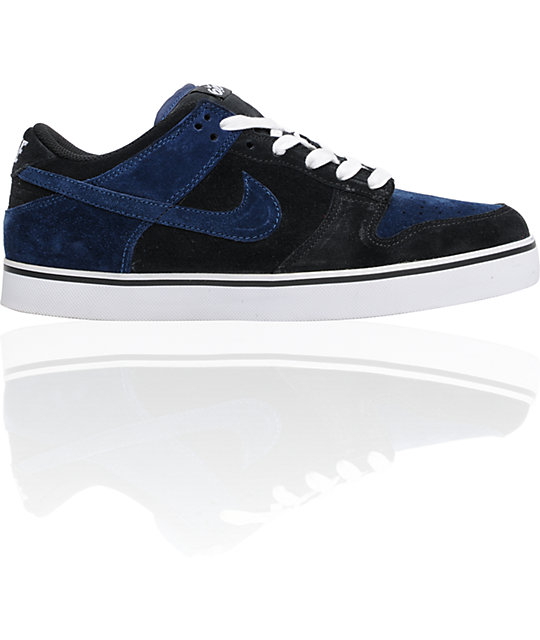 Nike 6.0 Dunk SE Black & Midnight Navy Shoes