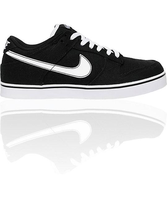 Nike 6.0 Dunk SE Black Canvas Shoes