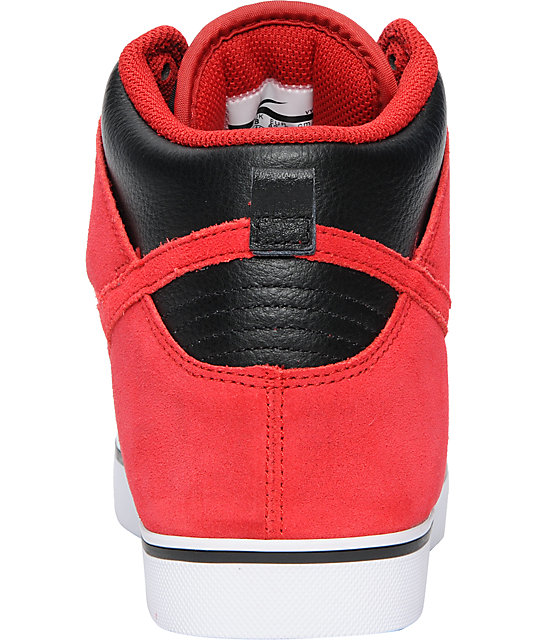 Nike 6.0 Dunk SE High Black & Red Skate Shoes