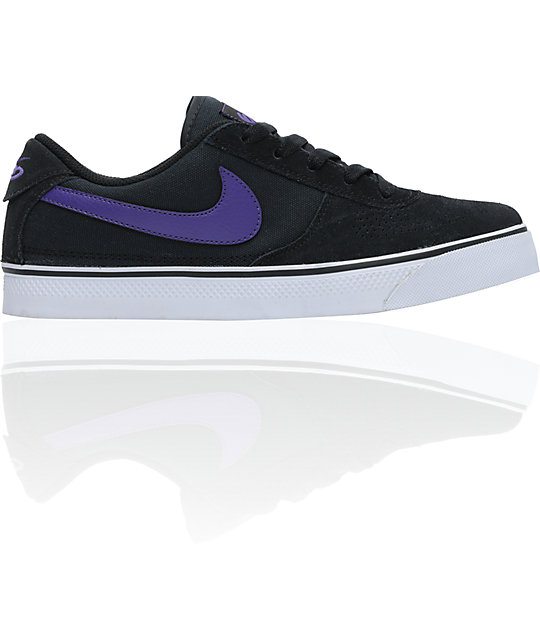 nike 6 0 skate shoes. nike 6.0 mavrk 2 low black \u0026 club purple skate shoes 6 0