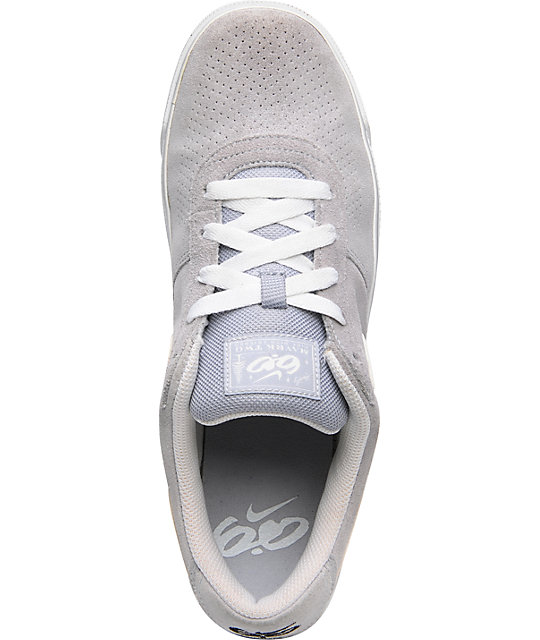 Nike 6.0 Mavrk 2 Low Grey & White Shoes