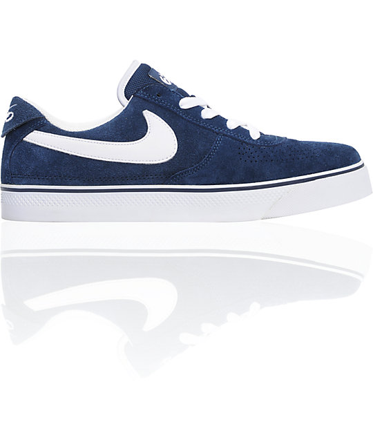 nike 6 0 skate shoes. nike 6.0 mavrk 2 low navy \u0026 white suede skate shoes 6 0 a