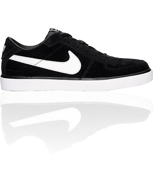 Nike 6.0 Mavrk Black & White Shoes