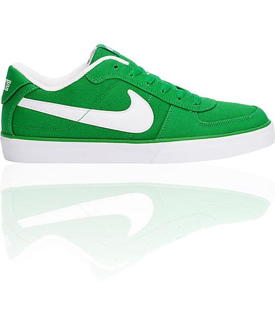 nike 6.0 green sneakers