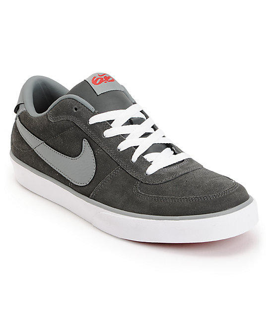 Nike 6.0 Mavrk Grey & Charcoal Shoes