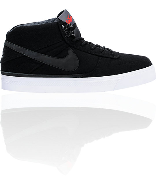 Nike 6.0 Mavrk Mid 2 Black & Anthracite Shoes
