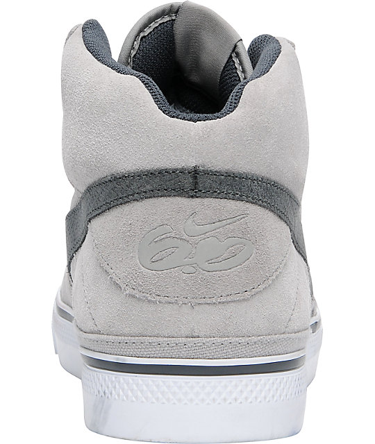 Nike 6.0 Mavrk Mid 2 Grey, Anthracite & White Shoes