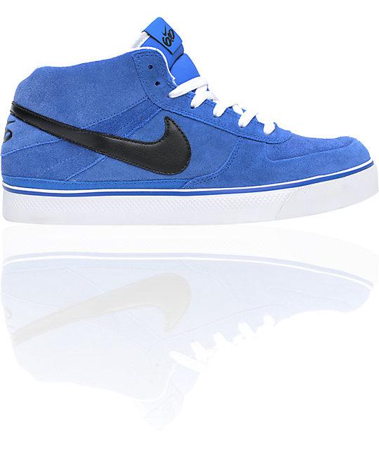 Nike 6.0 Mavrk Mid 2 Varsity Blue, Black & White Shoes