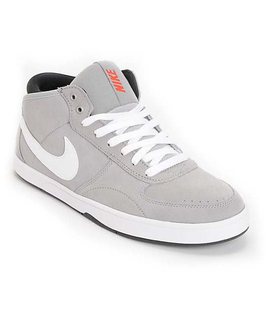 Nike 6.0 Mavrk Mid 3 Metallic Silver Shoes