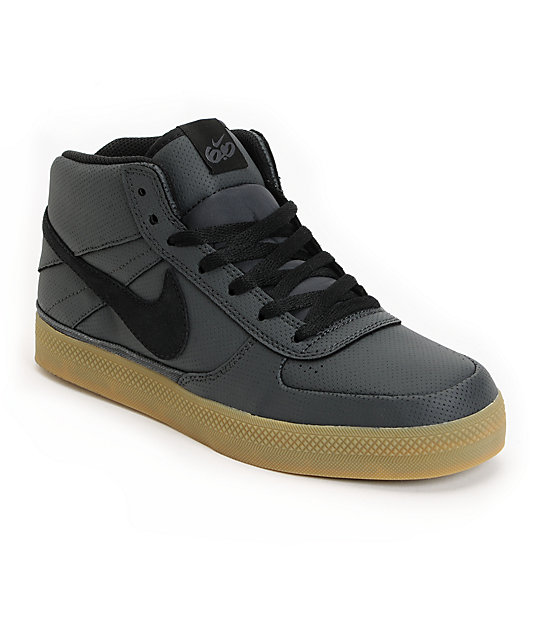 Nike 6.0 Mavrk Mid Anthracite, Black & Gum Shoes