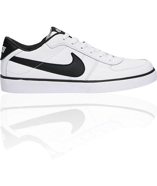 Nike 6.0 Mavrk White & Black Shoes