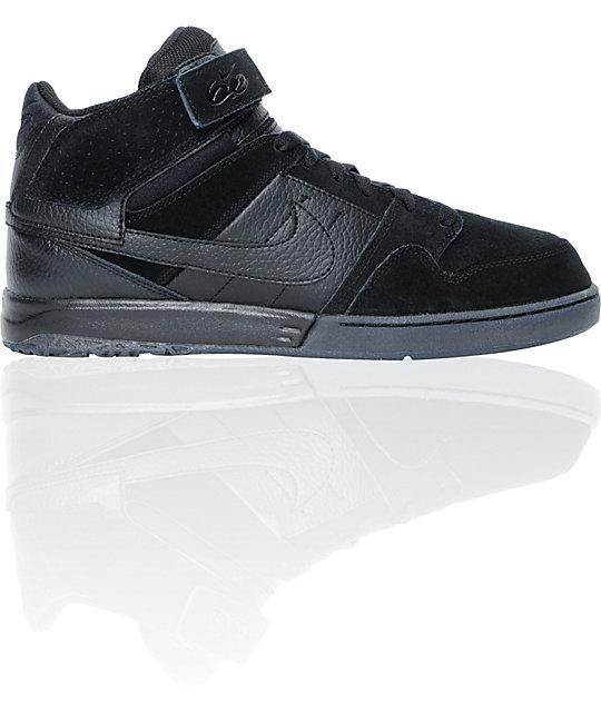 Nike 6.0 Zoom Mogan Mid 2 Black Skate Shoes