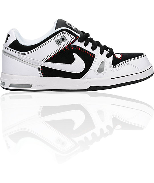 Nike 6.0 Zoom Oncore 2 Black, White & Red Shoes