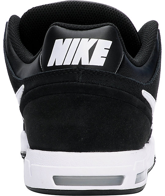 Nike 6.0 Zoom Oncore 2 Black & White Shoes