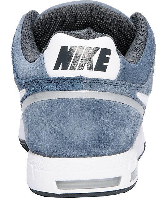 Nike 6.0 Zoom Oncore 2 Monsoon Blue, White, & Silver Shoes