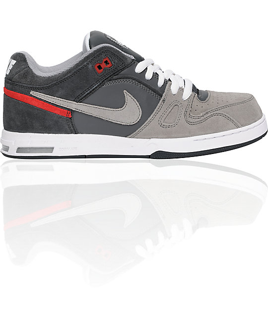 Nike 6.0 Zoom Oncore 2 Shadow Grey & Red Shoes