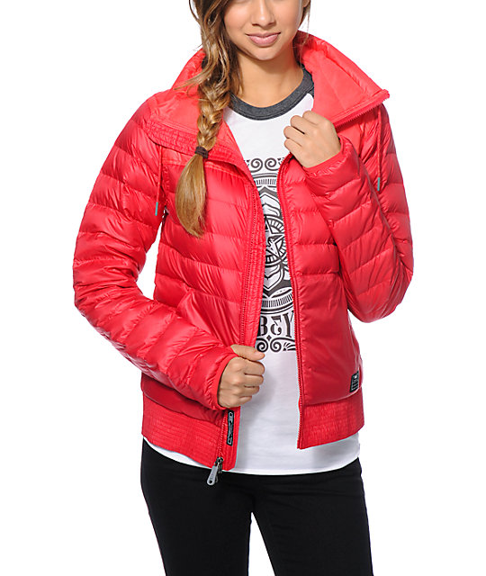 Nike 800 Red Down Jacket