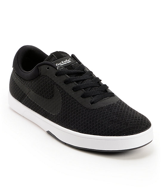 Nike Eric Koston Express Black & White Skate Shoes
