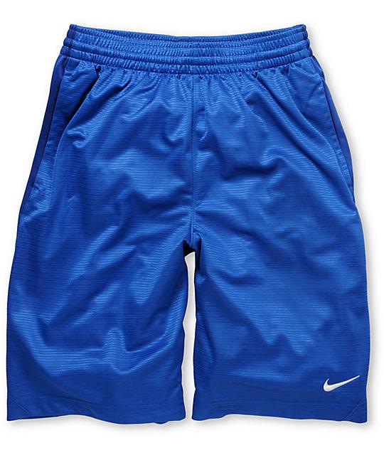 Nike Layup Blue 21 Athletic Shorts