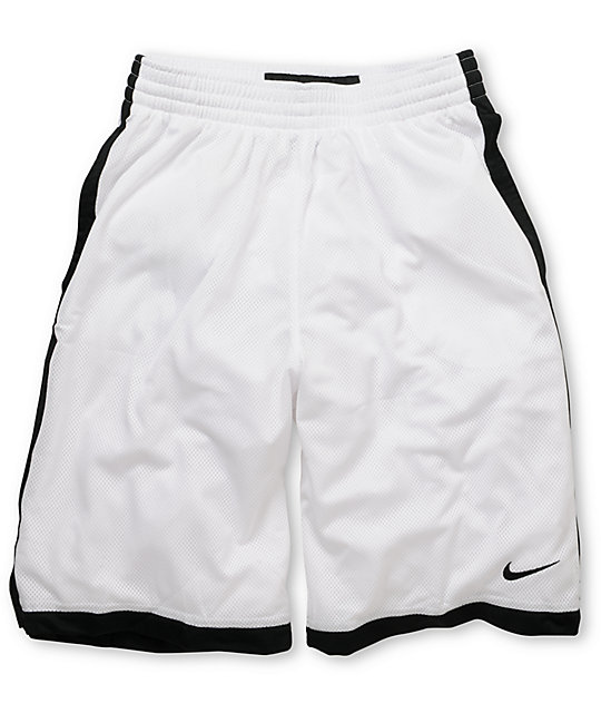 Nike Money 23 White & Black Mesh Shorts