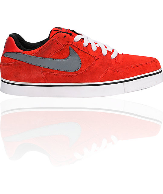 Nike SB 2.5 Sport Red & Grey Shoes