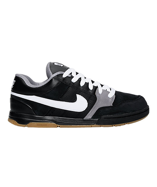 Nike SB Air Mogan Black, White & Cool Shoes