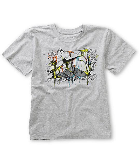 Nike SB Boys Epic Heather Grey T-Shirt