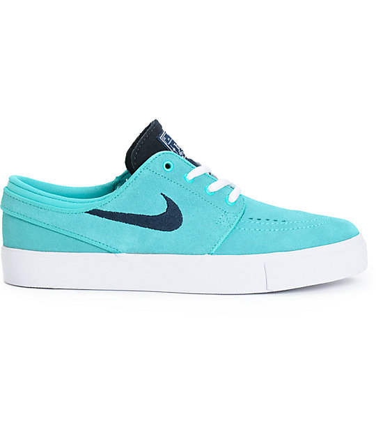 Nike SB Boys Stefan Janoski Retro and White Skate Shoes