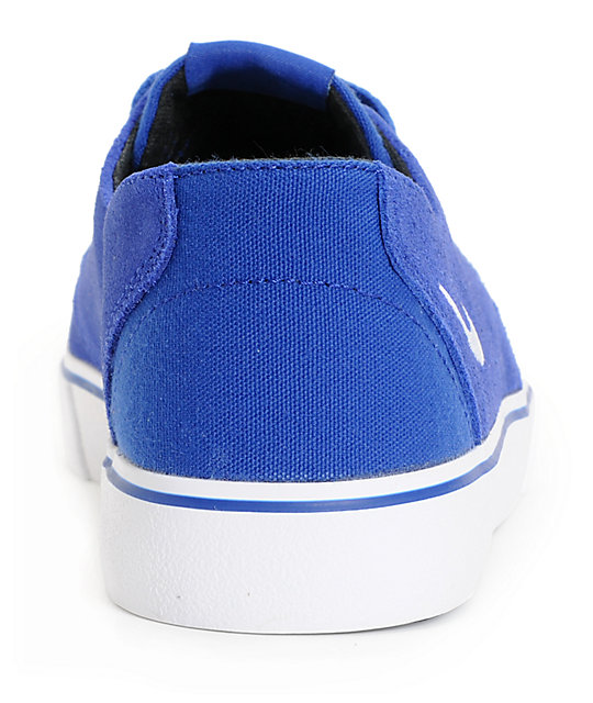 Nike SB Braata LR Drenched Blue & White Skate Shoes