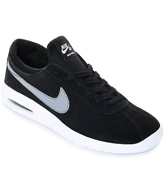 official photos 50aa9 5fd53 ... Nike SB Bruin Vapor Air Max Black   Grey Skate Shoes ...