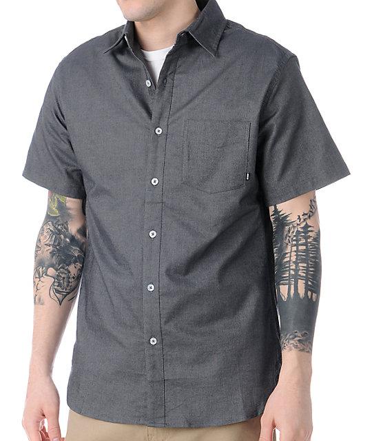 Nike SB Chessboxing Short Sleeve Button Up Shirt