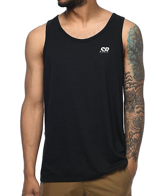 Nike Sb Dri Fit Black Tank Top Zumiez
