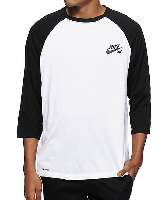 nike sb dri fit crew baseball t shirt at zumiez pdp