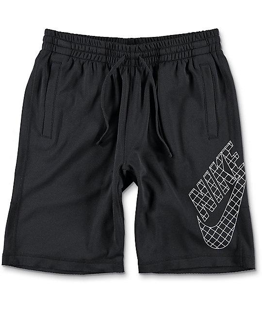 Nike SB Dri-Fit Grid Sunday Black Shorts