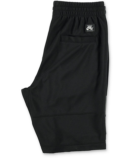 Nike SB Dri Fit Sunday Black Shorts