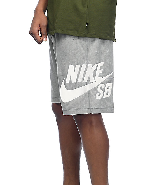 Nike SB Dri-Fit Sunday Grey Shorts